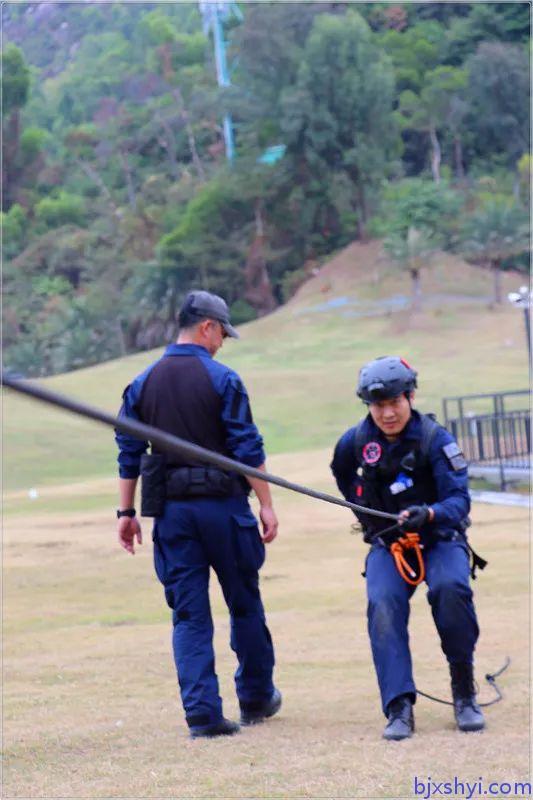 HKRU绳索技术培训学员1