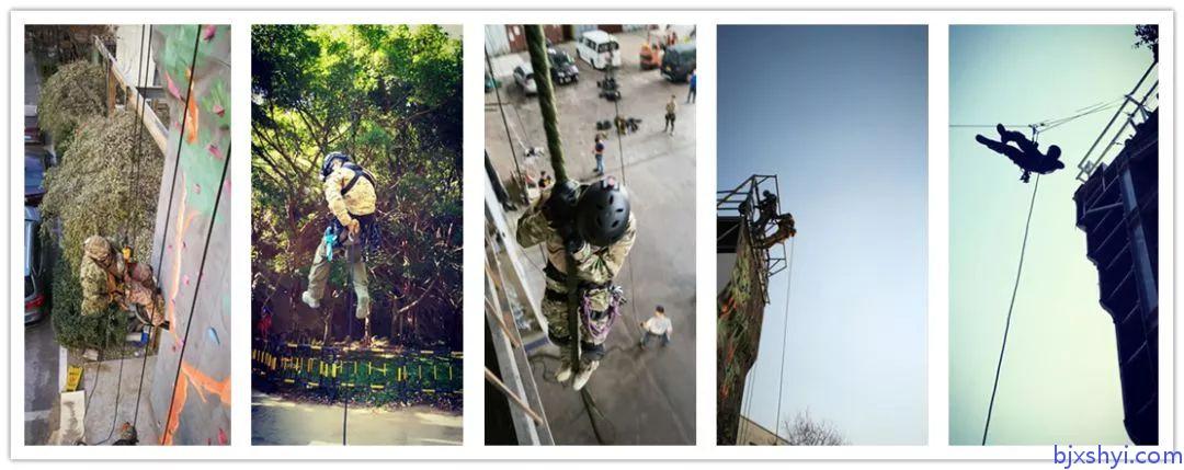 HKRU绳索技术培训训练现场3