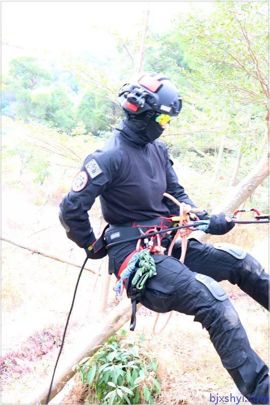 HKRU绳索技术培训学员2