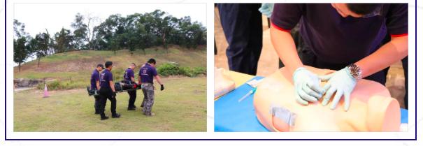 TECC战术紧急伤员救护和低光医疗,训练基地场景5