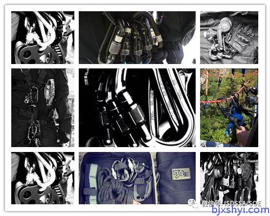 HKRU绳索技术培训训练装备大全