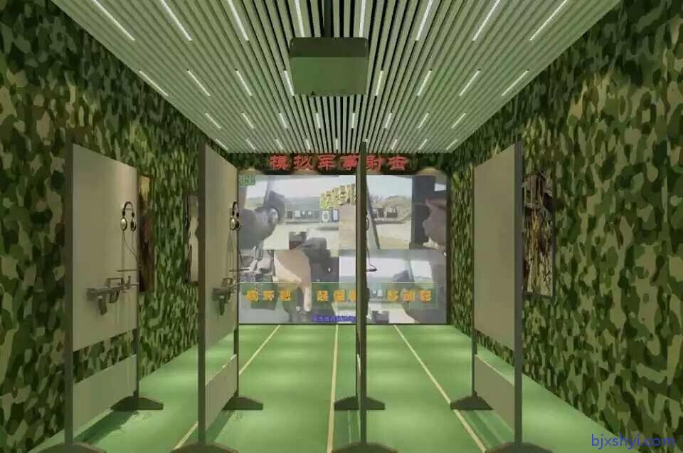 激光影像打靶,电子靶系统,军警影像互动打靶