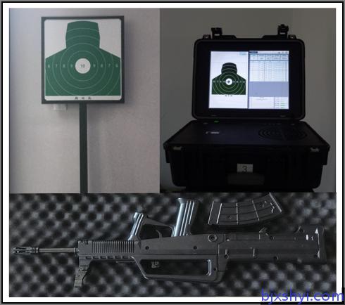 (军警版)便携式轻武器射击训练瞄准分析系统 配备1:1自动95(弹夹可拆卸)