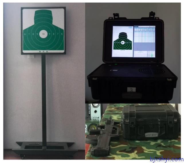 公安、武警、部队等轻武器专业射击训练之便携式精确射击训练系统