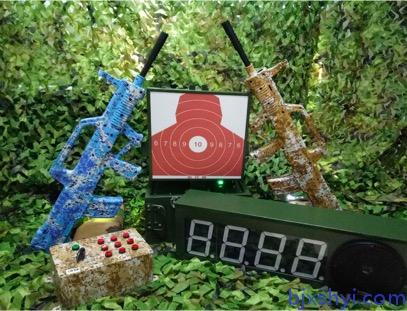 轻武器模拟射击之便携式起倒靶模拟射击训练系统