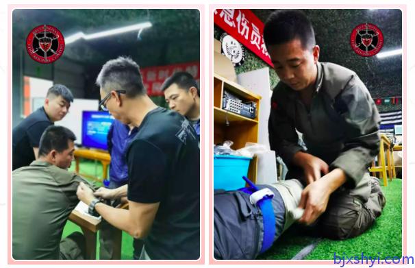 TECC战术紧急伤员救护和低光医疗,训练现场