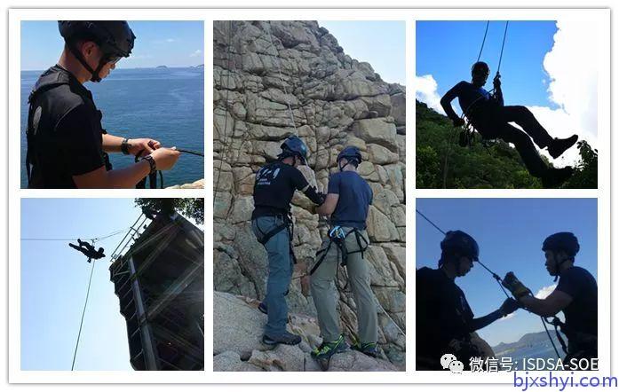 HKRU绳索技术培训训练现场