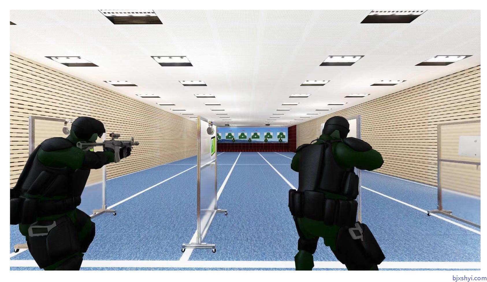 鑫晟恒亿军警模拟射击训练靶场建设效果图5