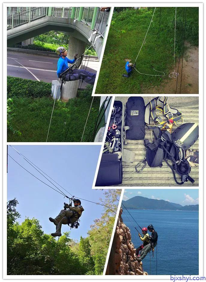 HKRU绳索技术培训训练现场4