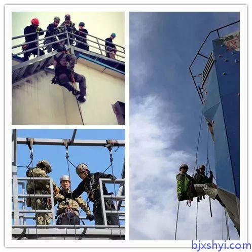 HKRU绳索技术培训训练现场1