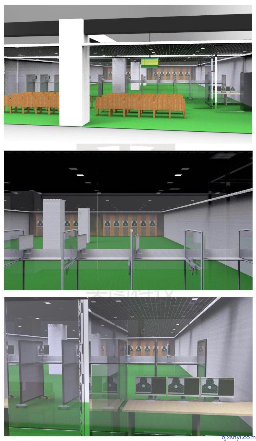 鑫晟恒亿军警模拟射击训练靶场建设效果图9