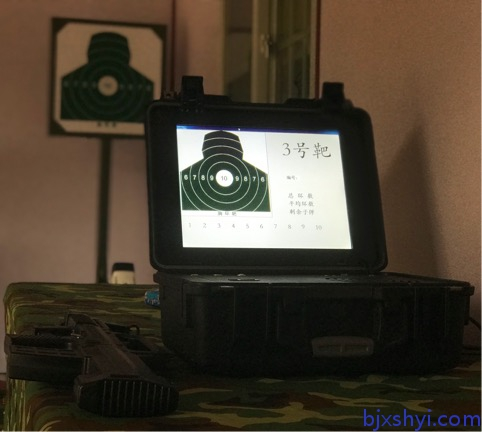 国防教育学生军训轻武器模拟射击 之便携式精确射击训练系统
