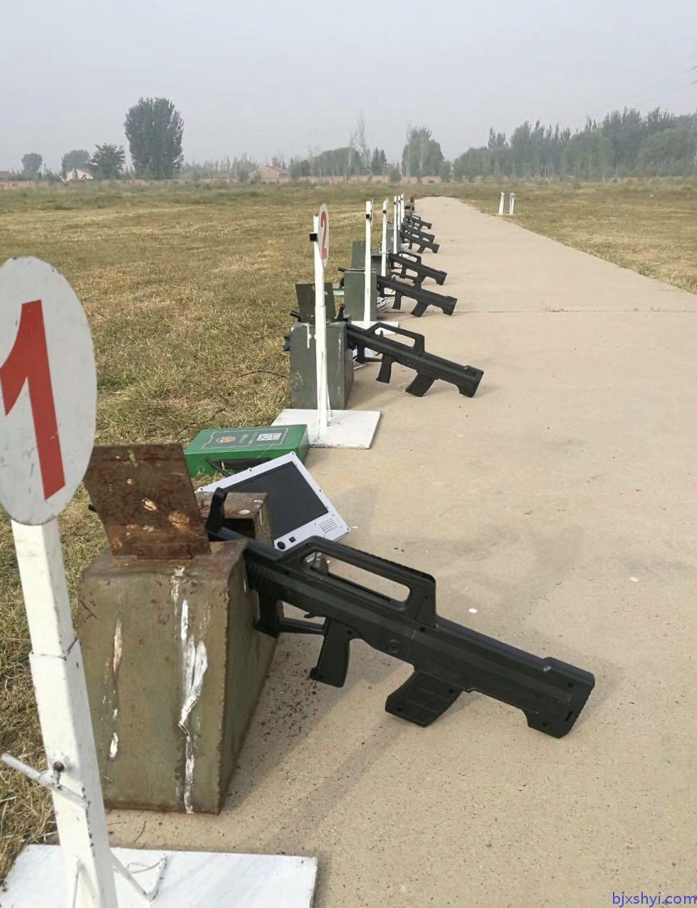 便携式军警模拟射击训练打靶系统