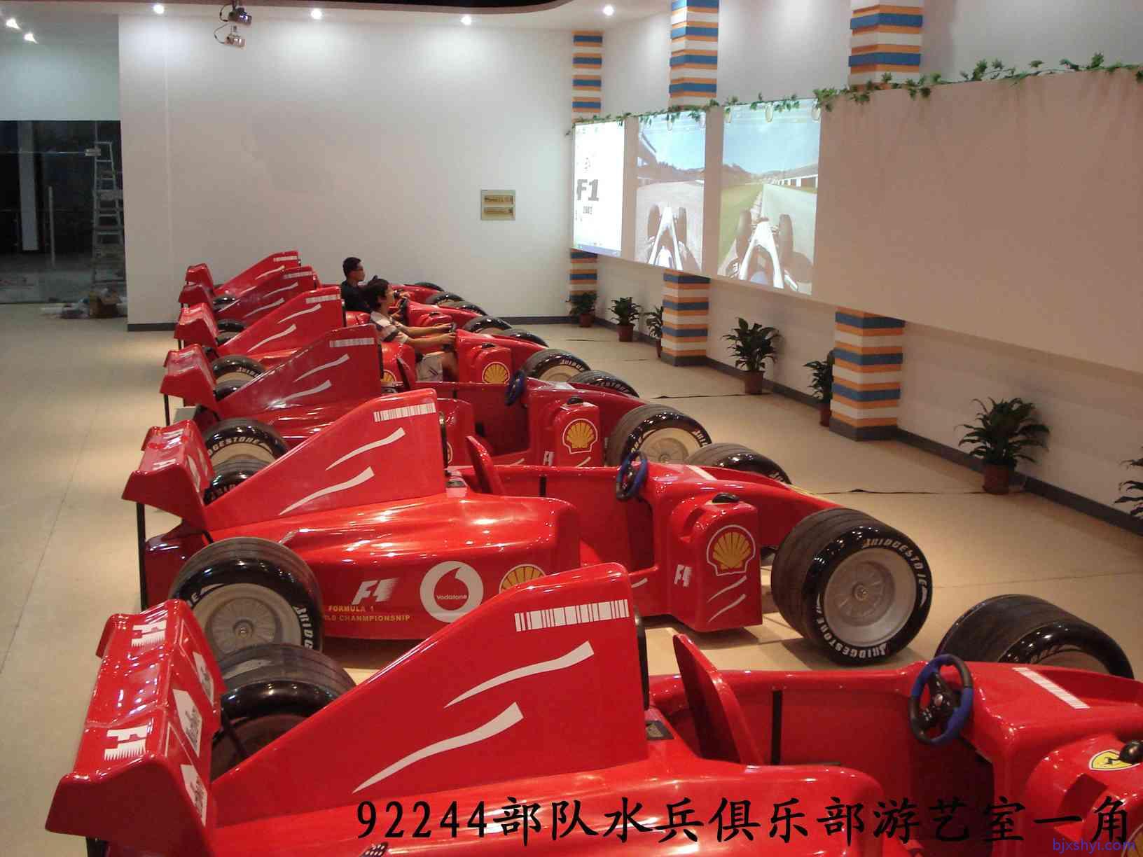 模拟F1赛车驾驶,室内模拟驾驶训练,娱乐驾驶